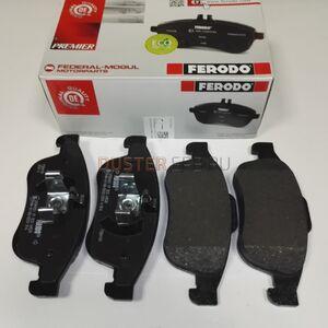 Передние тормозные колодки (1.5 D; 2.0) Ferodo (Бельгия), аналог 410605961R, для Рено Дастер