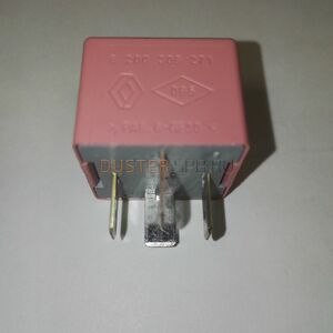 Реле 40А вентилятора (4 контакта, розовое) Renault оригинал (Франция), 8200308271, для Рено Дастер
