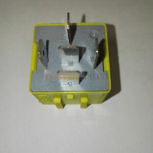 Реле 40А вентилятора, фары (5-ти контактное, желтое) #1
