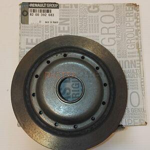 Шкив коленвала 1,6  ремня генератора  Renault оригинал (Франция), 8200392683, для Рено Дастер