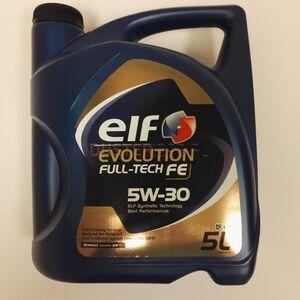 Масло моторное ELF FULLTECH FE 5W30 (5 л) ELF (Франция), для Рено Дастер