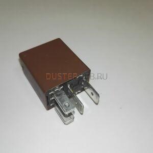 Реле 20А противотуманной фары (4 контакта, коричневое, мини) #2