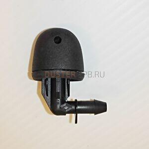 Форсунка омывателя задняя Renault оригинал (Франция), 7700846317, для Рено Дастер