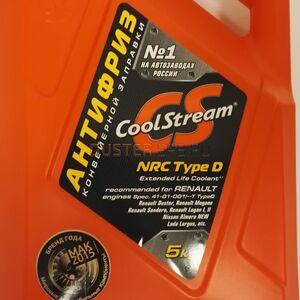 """Антифриз CoolStream NRC """"готовый"""" 5 кг (заливается на заводе) #1"""