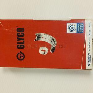 Вкладыши коренные (0,50 мм) к-т Glyco (Бельгия), для Рено Дастер