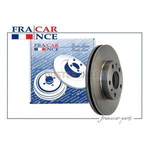 Диск тормозной передний (280 мм) к-т FranceCar (Китай), аналог 402060010R, для Рено Дастер