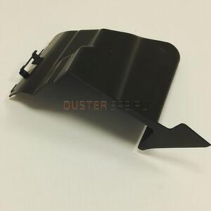 Дефлектор радиатора в бампер правый #1