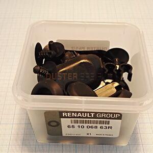 Комплект пистонов капота  Renault оригинал (Франция), 651006863R, для Рено Дастер