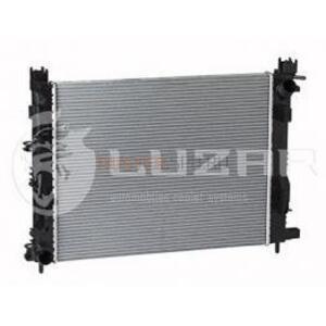 Радиатор охлаждения с кондиционером и без 1,5 dCi; 1,6 H4M цепной; 2,0 (c 2015г.в.) 214105731R; 214100078R Лузар (Россия), аналог 214106179R, для Рено Дастер