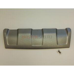 Накладка переднего бампера 4мм (аэродинамический обвес) Русская артель (Россия), для Рено Дастер