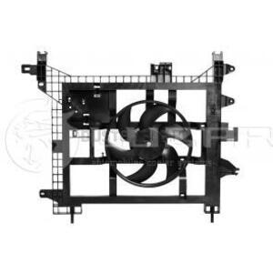Вентилятор охлаждения радиатора без кондиционера 1.5; 1.6; 2.0  Рено Дастер 8200880554 до 2015г.в. Лузар (Россия), аналог 214810879R, для Рено Дастер