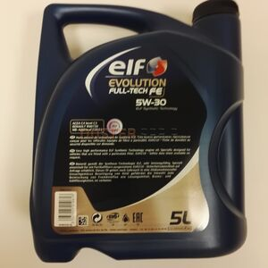 Масло моторное ELF FULLTECH FE 5W30 (5 л) #1