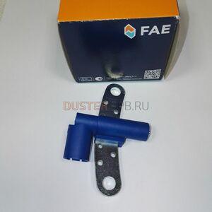 Датчик положения коленвала FAE (Испания), аналог 8200647554, для Рено Дастер