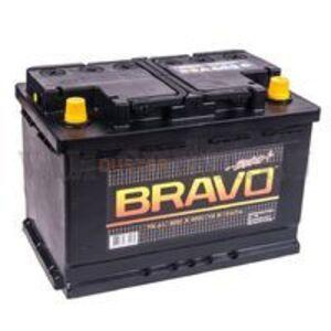 Аккумулятор BRAVO 74 A\h 650 A(En) (плюс справа) АКОМ (Россия), для Рено Дастер