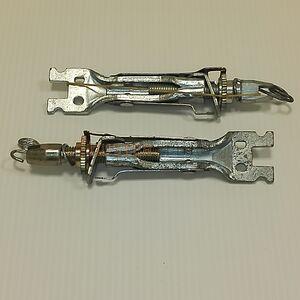 Планки регулировочные задних тормозных колодок, комплект (на два колеса) Lex (Польша), аналог 7701208061, для Рено Дастер