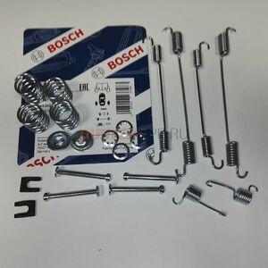 Монтажный комплект задних тормозных колодок 4x4 Bosch (Германия), аналог 440269087R, для Рено Дастер