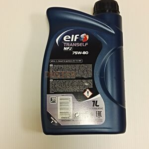 Масло трансмиссионное ELF Tranself NFJ 75W80 GL-4+ (1 л)  #2