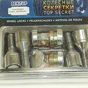 Секретки  (26 мм), комплект  два ключа Вектор (Россия), для Рено Дастер
