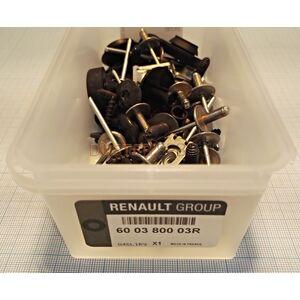 Комплект пистонов заднего бампера  Renault оригинал (Франция), 600380003R, для Рено Дастер