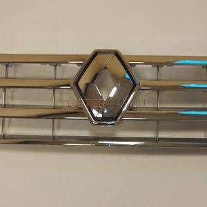 Решетка радиатора с эмблемой (хром) #1