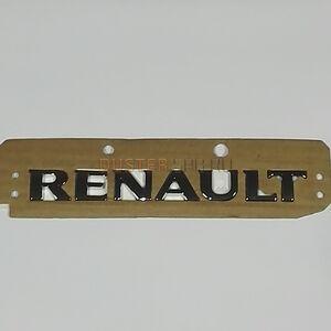 """Эмблема задняя """"Renault"""" Renault оригинал (Франция), 8200484897, для Рено Дастер"""