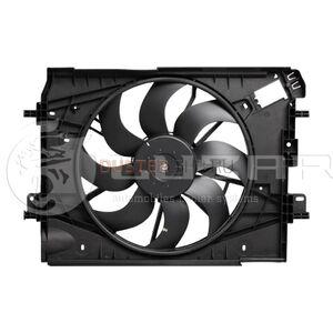 Вентилятор охлаждения радиатора с кондиционером и без в сборе 1.5 dCi; 1.6 H4M цепной; 2.0 (c 2015г.в.) #1