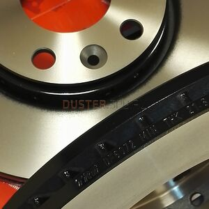 Диск тормозной передний (280 мм), комплект #2