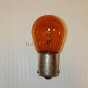 Лампа одноконтактная желтая 12V PY21W  #1