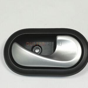 Ручка внутрисалонная правая (серебро) Renault оригинал (Франция), 8200735218, для Рено Дастер