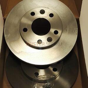 Диск тормозной передний (269 мм), комплект Brembo (Италия), аналог 402066300R, для Рено Дастер