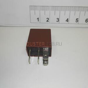 Реле 20A вентилятора, бензонасоса (4 контакта, коричневое, мини)  #1