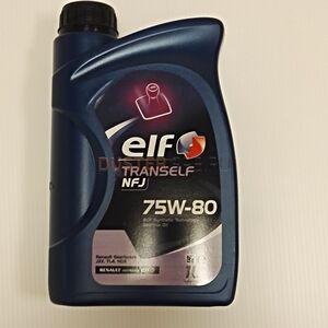 Масло трансмиссионное ELF Tranself NFJ 75W80 GL-4+ (1 л)  ELF (Франция), для Рено Дастер