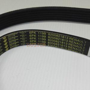 Ремень генератора  6PK1200  1,5 dCi, 1,6 без кондиционера #1