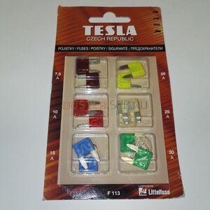 Предохранители мини к-т Tesla (Чехия), для Рено Дастер
