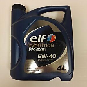 Масло моторное ELF EVOLUTION SXR 5W40 (4 л) синтетика  ELF (Франция), для Рено Дастер