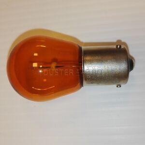 Лампа одноконтактная желтая 12V PY21W  #2